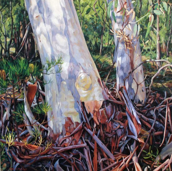 Gifts of the Gums - oil on canvas 76x76cm 2013