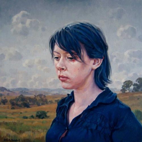 Freya - soft morning - oil on linen canvas 2011