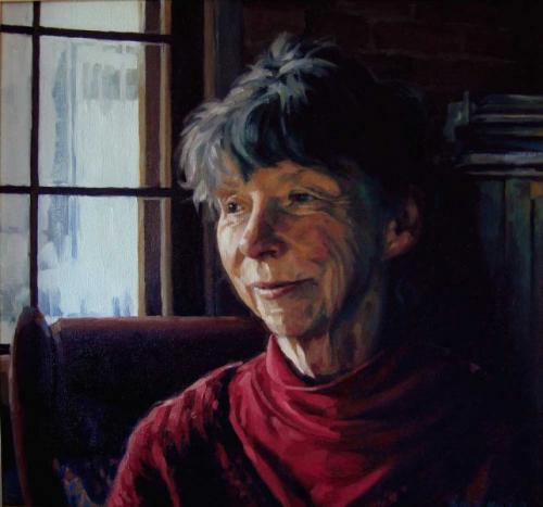 Lu Lu - oil on linen canvas 52x56 cm 2009