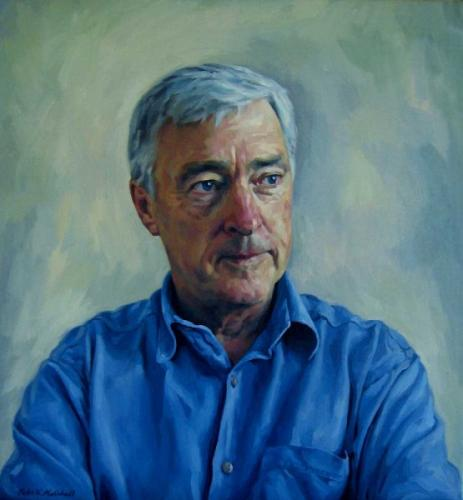 Portrait of Peter Andren MP - oil on linen canvas 2007