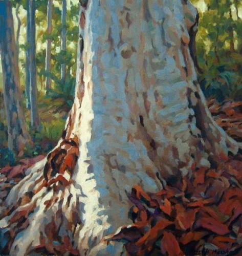 Morning Light - oil on canvas 25.5x20cm 2013