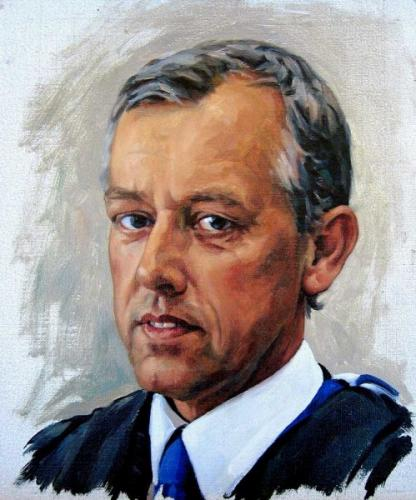 Portrait sketch for a commission - oil on canvas 20x25 cm 2007